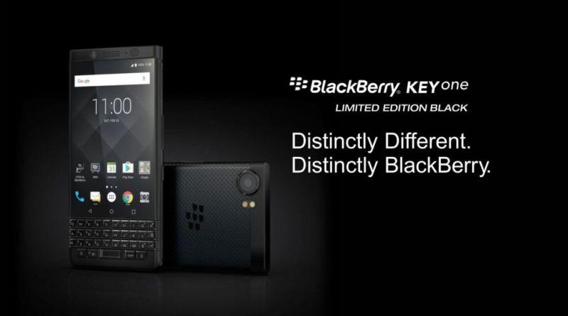 BlackBerry KEYone Black Limited Edition llega a México ¡Edición limitada! - blackberry-keyone-limited-edition-black-800x445