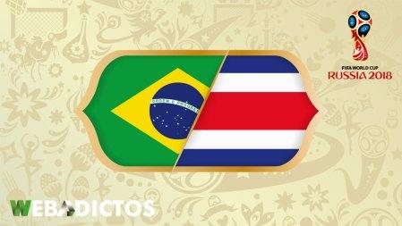 Brasil vs Costa Rica en el Mundial 2018 ¡En vivo por internet!
