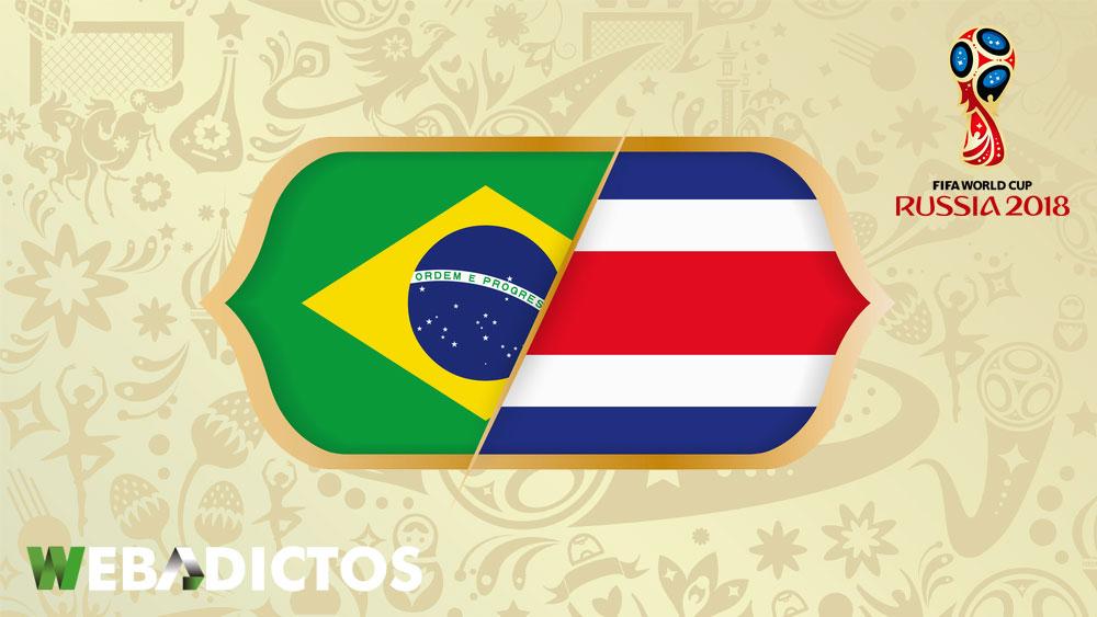 Brasil vs Costa Rica en el Mundial 2018 ¡En vivo por internet! - brasil-vs-costa-rica-mundial-rusia-2018