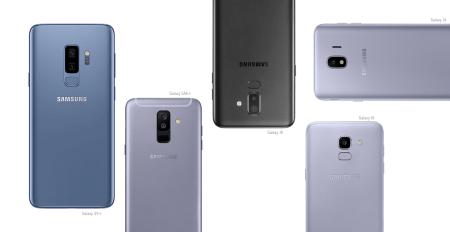Galaxy J4,J6,J8, A6+ los nuevos integrantes de la familia Galaxy 2018
