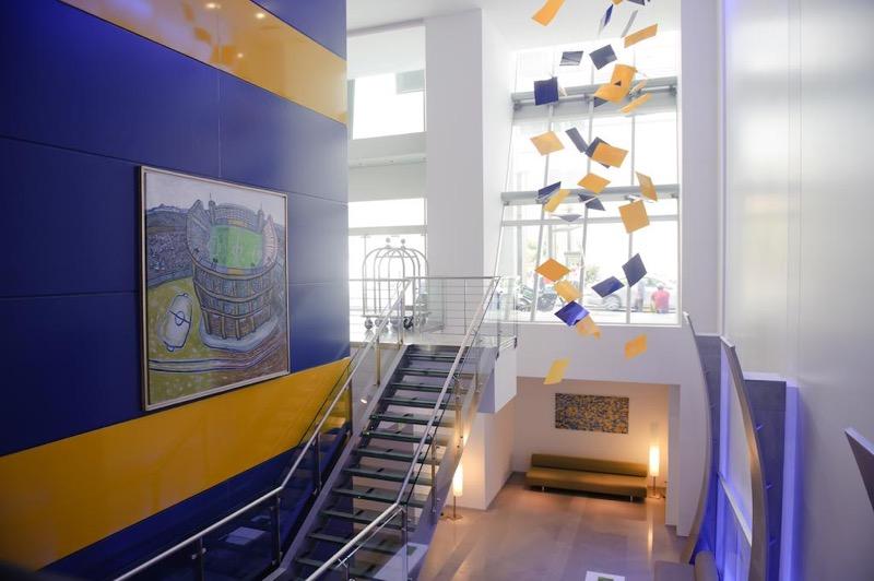 Los 5 hoteles más futboleros que existen alrededor del mundo - hotel-boca-juniors-by-design-argentina-2