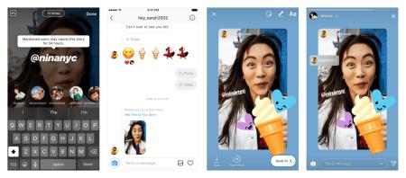 Instagram ya permite compartir historias en las que te hayan etiquetado