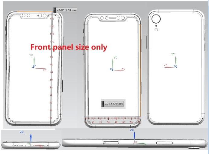 Así serán los próximos iPhone X: se filtran sus diseños - ipc-render