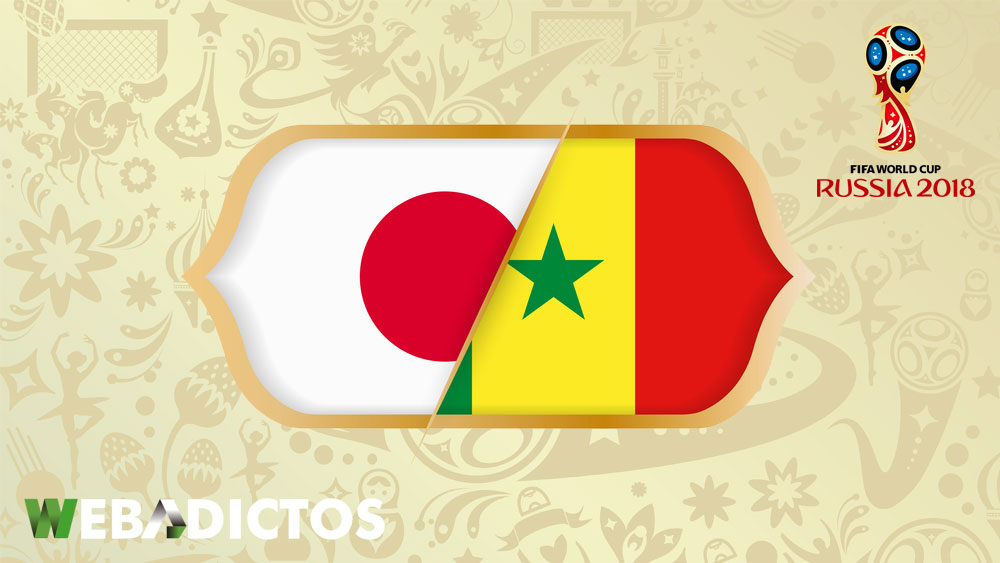 Japón vs Senegal, Grupo H del Mundial 2018 ¡En vivo por internet! - japon-vs-senegal-mundial-2018