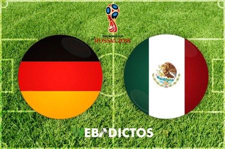 Partido México vs Alemania en el Mundial 2018 ¡En vivo por internet!