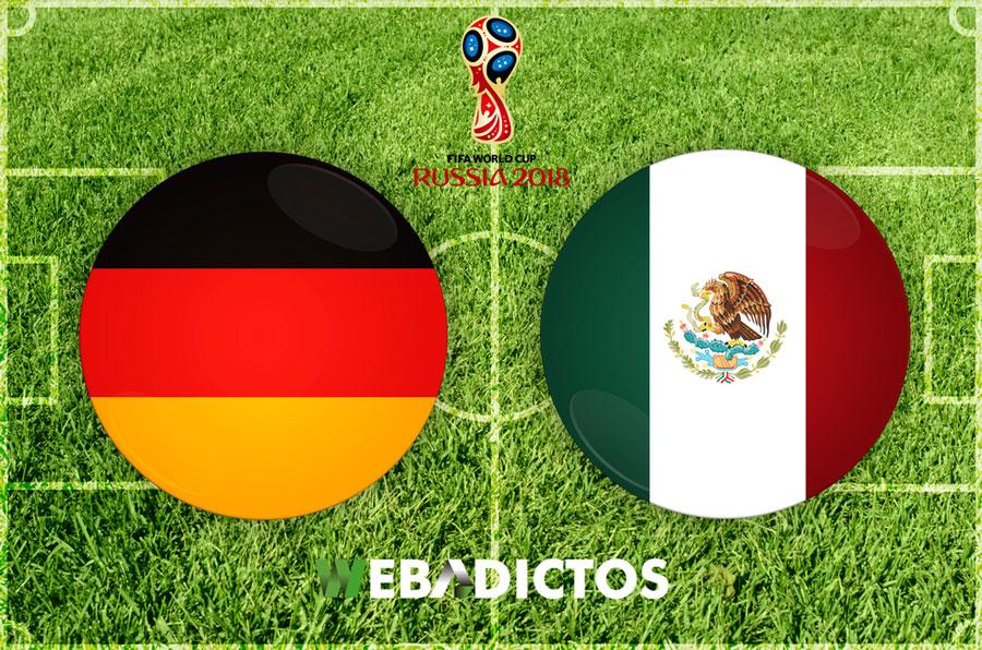 Partido México vs Alemania en el Mundial 2018 ¡En vivo por internet! - mexico-vs-alemania-mundial-rusia-2018