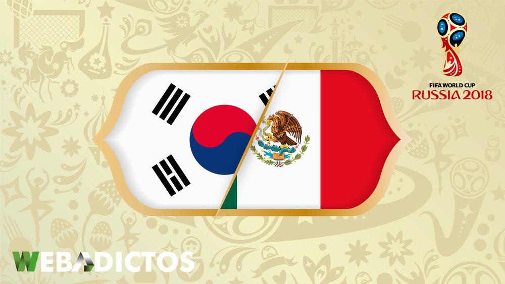México vs Corea en el Mundial Rusia 2018 ¡En vivo por internet! - mexico-vs-corea-del-sur-mundial-2018
