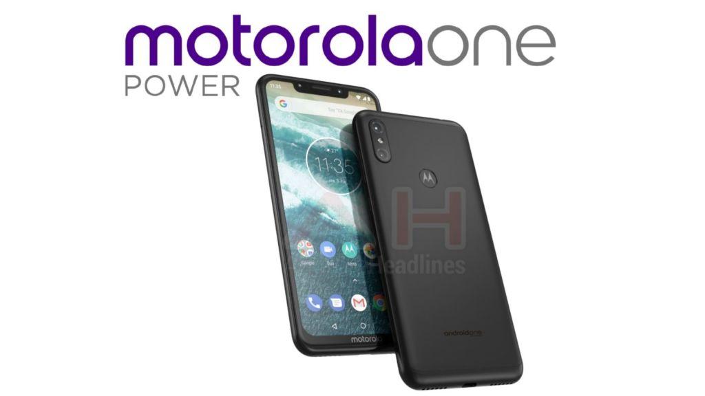 Motorola One Power: la firma adoptaría el notch en su próximo equipo con Android One - motorola-one-power-leaked-render