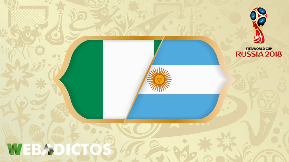 nigeria vs argentina en el mundial 2018 161 en vivo por