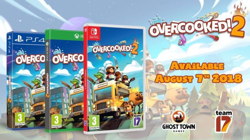E3 2018: Overcooked 2 llegará en Agosto para Xbox, PS4, PC y Switch - overcooked-2_juego-800x450
