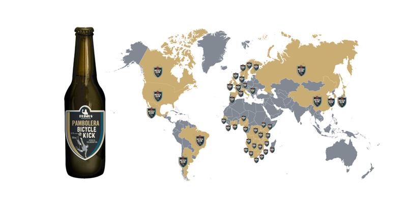 Pambolera, Bicycle Kick: cerveza de colaboración global con cervecerías del mundo - pambolera-bicycle_kick-cerveceria-primus