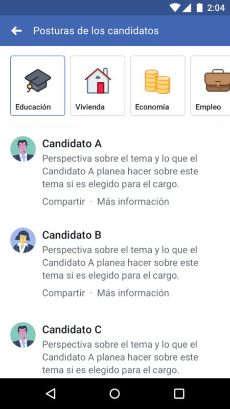 """""""Perspectivas Políticas"""" herramienta que lanza Facebook en el marco de las elecciones en México - perspectivas-politicas_1"""