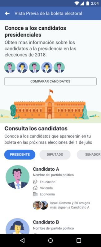 1,300 millones de interacciones registradas en Facebook sobre elecciones durante los 90 días previos - perspectivas-politicas_facebook-326x800