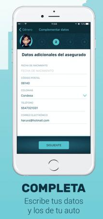 ¿Quieres saber cómo cotizar y contratar un seguro desde tu celular? - seguros-pantalla-3