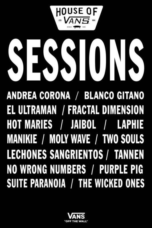 Vans presenta a las 16 bandas semifinalistas de SESSIONS - sessions-semifinalistas-533x800