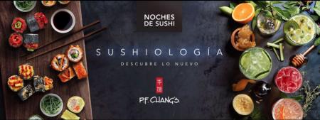 Sushiología: Sushis + Cocktails ¡la nueva experiencia de P.F. Chang's!
