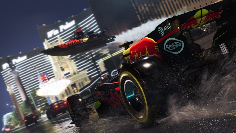 The Crew 2: compite en intensas carreras por tierra, mar y aire ¡Ya disponible! - thecrew2_vegas-800x450