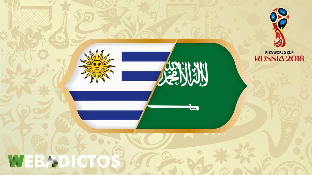 Uruguay vs Arabia Saudita, Mundial 2018 ¡En vivo por internet!   Grupo A - uruguay-vs-arabia-saudita-mundial-2018