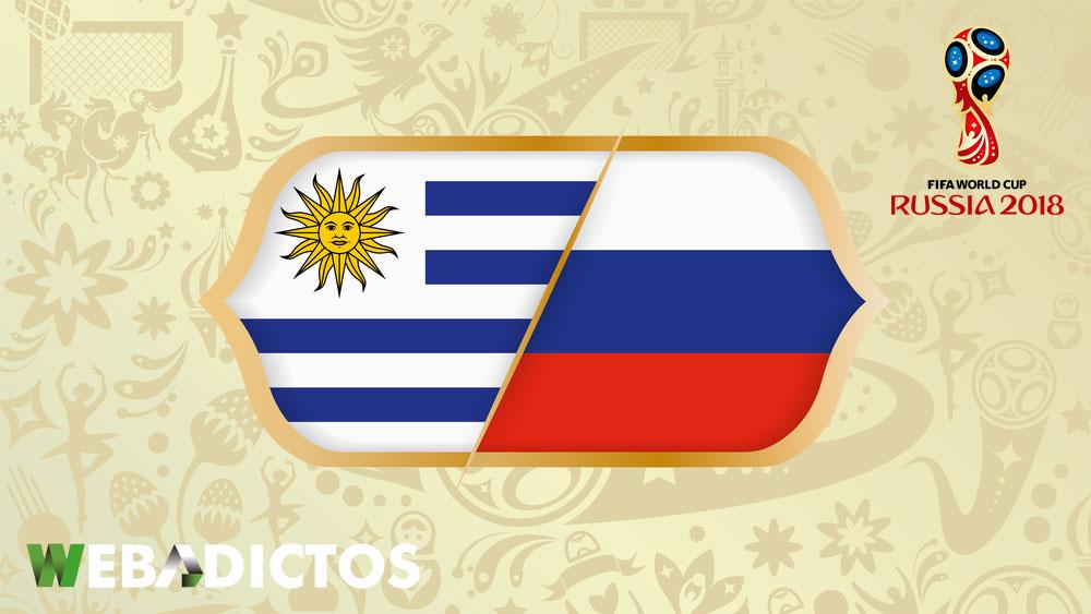 Uruguay vs Rusia en el Mundial 2018 ¡En vivo por internet! - uruguay-vs-rusia-mundial-2018