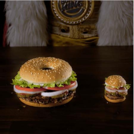 Whopper Donut, la primera dona hecha a la parrilla de Burger King