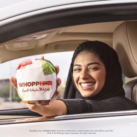 Burger King celebra a las mujeres conductoras lanzando: WhoppHER - whoppher-450x450