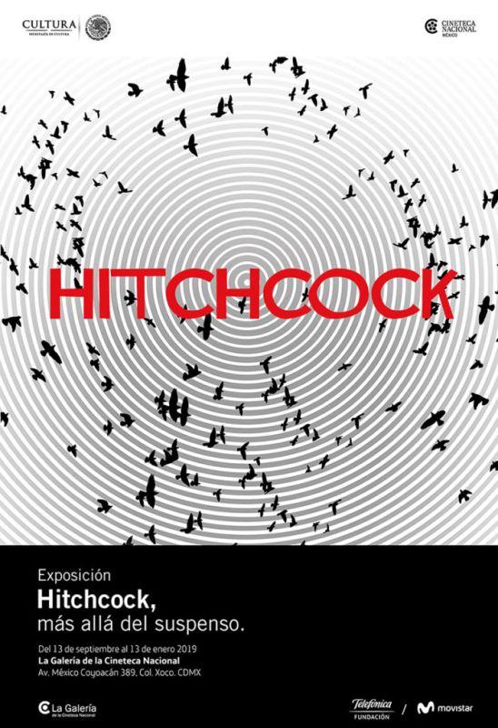 """""""Hitchcock, más allá del suspenso"""", gran exposición sobre el cineasta británico, ahora en México - alfred-hitchcock_cartel-web-548x800"""