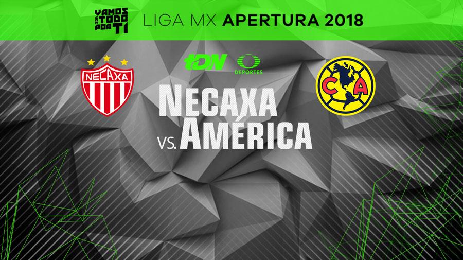 Necaxa vs América, Jornada 1 del Apertura 2018 ¡En vivo por internet! - america-vs-necaxa-apertura-2018-internet