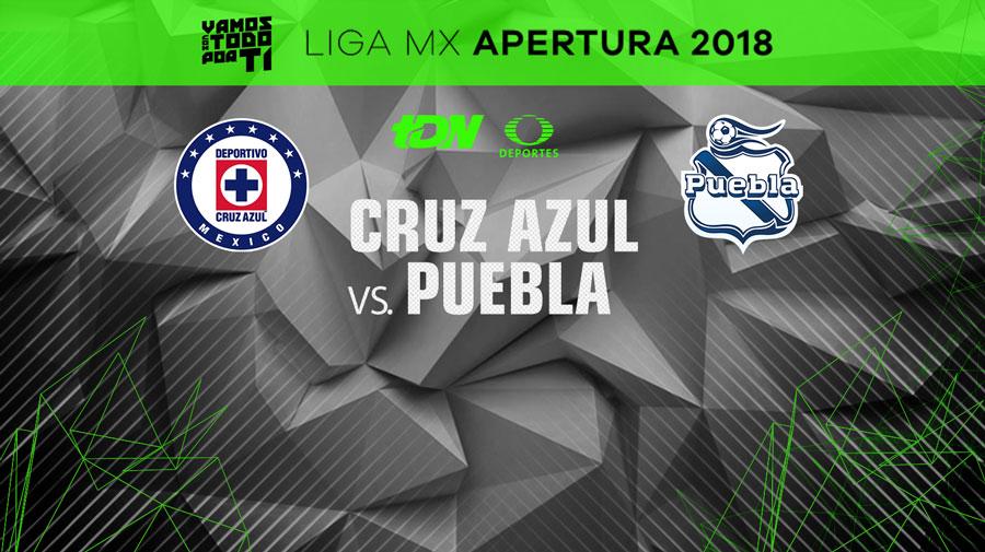Cruz Azul vs Puebla, Jornada 1 del Apertura 2018 ¡En vivo por internet! - cruz-azul-vs-puebla-apertura-2018-internet