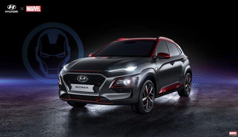 Hyundai presenta una edición especial de la Kona Iron Man, en el Comic-Con - hyundai-kona-iron-man_3-800x460