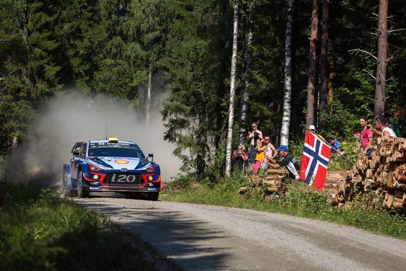 Hyundai Shell Mobis WRT conserva la cima del FIA World Rally Championship - hyundai-shell-mobis-wrt_1-800x533