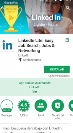 LinkedIn Lite en español llega a México - imagen-1_-linkedin-lite