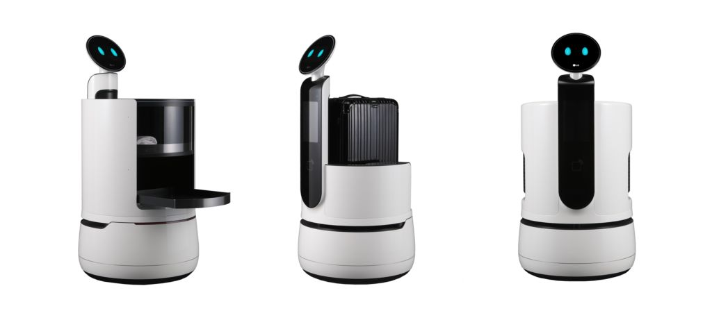 LG expande inversiones en desarrolladores de Robots - lg-concept-robots