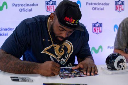 Movistar acerca la NFL a los fans de México - michael-brockers