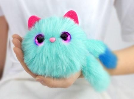 Pomsies, adorables gatitos de peluche interactivos llegan a México - pomsies_azul