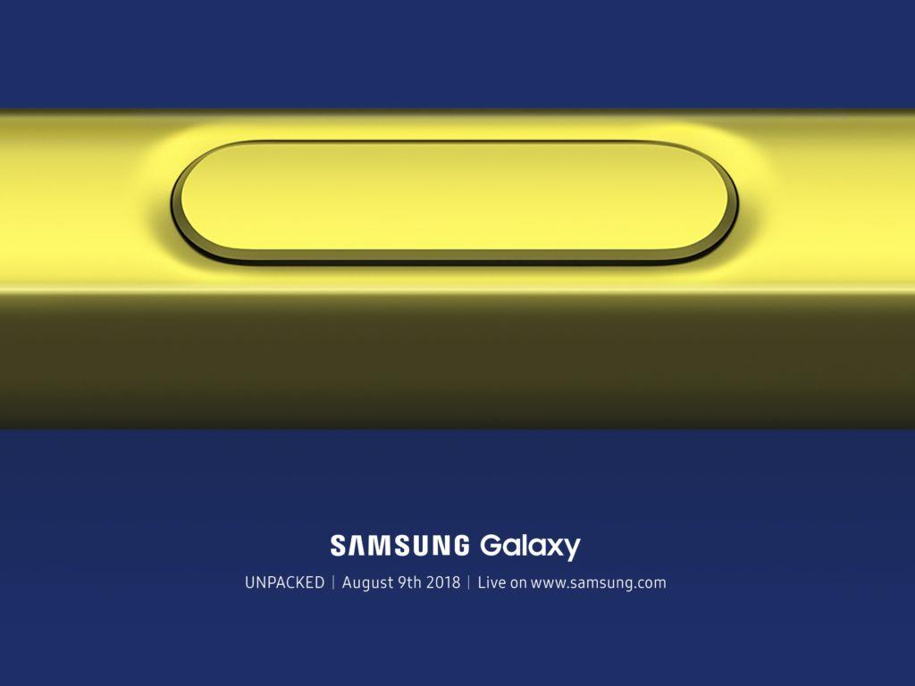El S Pen del próximo Galaxy Note 9 tendrá conectividad Bluetooth - samsung-galaxy-note-9-unpacked-s-pen