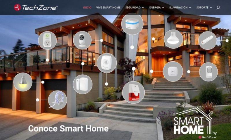 Nueva cámara inteligente Full HD de TechZone - solucion-smart-home-de-techzone-800x484