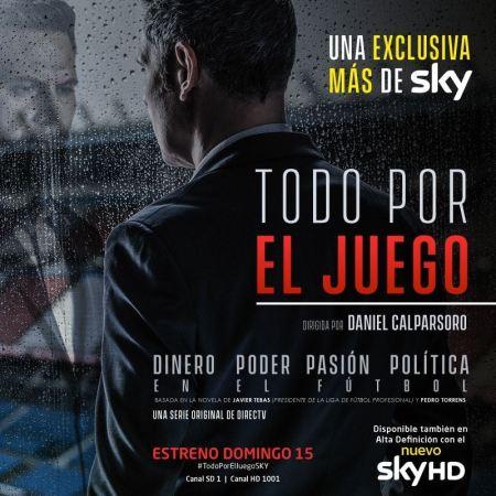 """""""Todo por el juego"""", nueva serie sobre el lado oscuro del fútbol"""