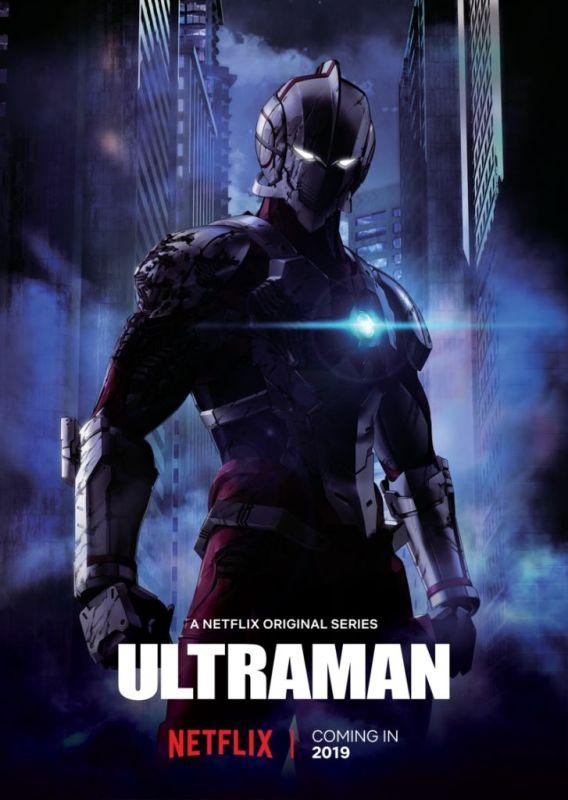 Netflix anuncian las fechas de estreno de las nuevas series ANIME - ultraman-568x800