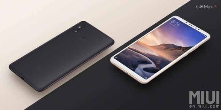 El Xiaomi Mi Max 3 hace honor a su nombre con enorme pantalla y batería - xmm3-black-gold
