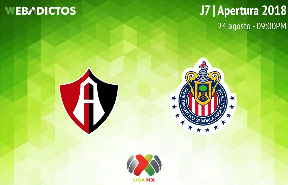 Atlas vs Chivas, Clásico Tapatío en la J7 A2018 ¡En vivo por internet! - atlas-vs-chivas-clasico-tapatio-a2018