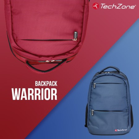 Backpack Warrior techzone lanza nuevas backpacks repelentes al agua - backpack-warrior-de-techzone