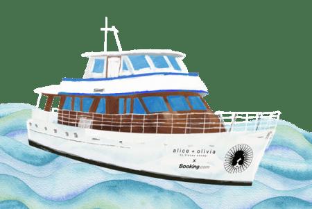 Booking.com y alice+olivia invitan a viajeros a vivir una experiencia exclusiva este NYFW