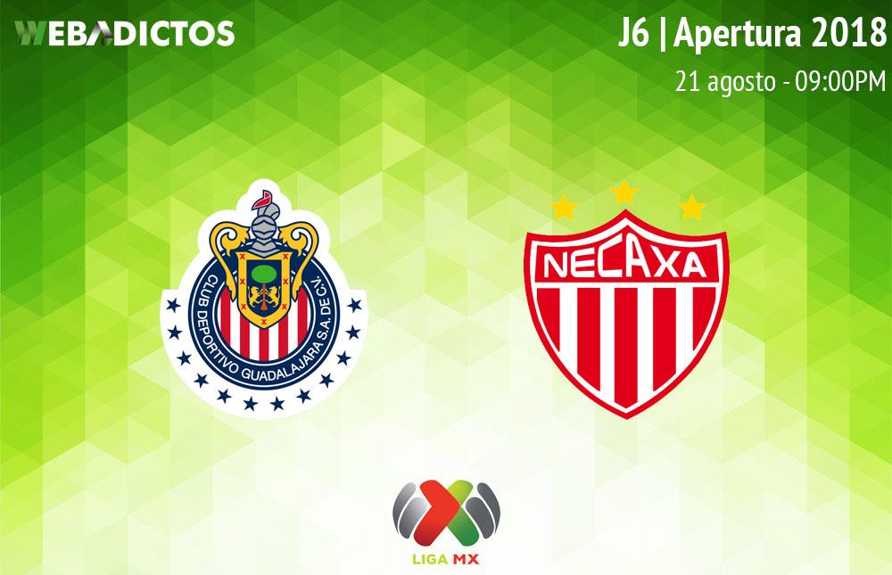 Doble jornada en la Liga MX y Necaxa visita Guadalajara
