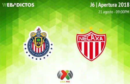 Chivas vs Necaxa, J6 de Liga MX A2018 ¡En vivo por internet!