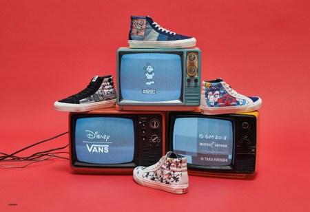 Vans y Disney celebran el 90 aniversario de Mickey Mouse con 4 exclusivos diseños