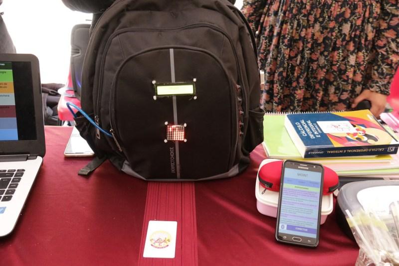 Crean alumnos mexicanos mochila inteligente que evita olvidar material escolar - mochila-inteligente_1-800x534