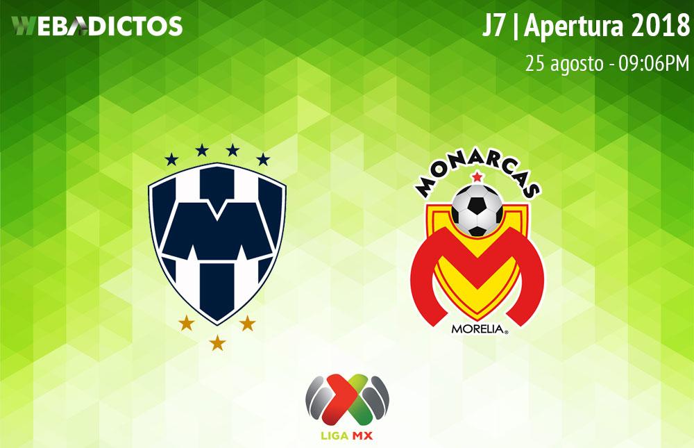 Monterrey vs Morelia, Jornada 7 de Liga MX A2018 ¡En vivo por internet! - monterrey-vs-morelia-apertura-2018