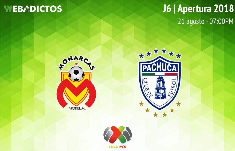 Morelia vs Pachuca, Jornada 7 de la Liga MX A2018 ¡En vivo! - morelia-vs-pachuca-liga-mx-apertura-2018
