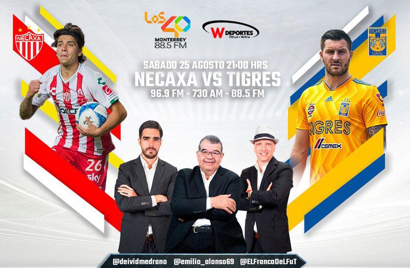 Necaxa vs Tigres, Jornada 7 del Apertura 2018 ¡En vivo por internet! - necaxa-contra-tigres-por-radio-a2018