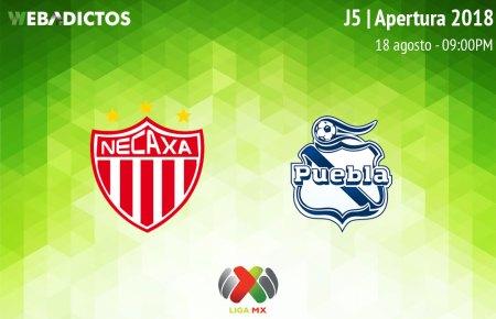 Necaxa vs Puebla, Jornada 5 del Apertura 2018 ¡En vivo por internet!